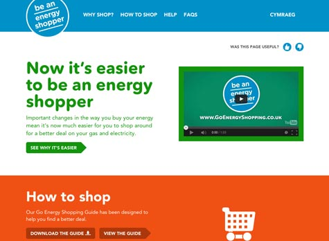 Go Energy Shopping